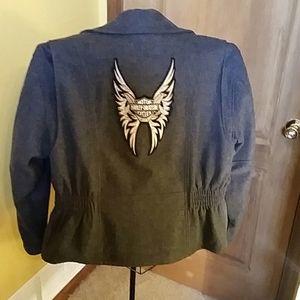Harley Davidson Vintage Wool Jacket